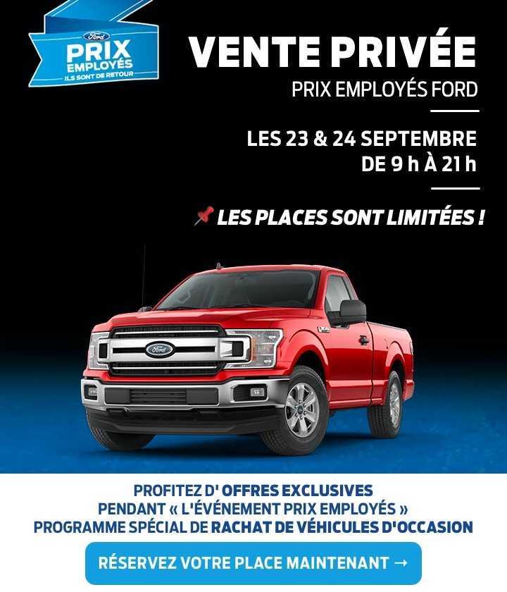 Vente privée septembre 2019