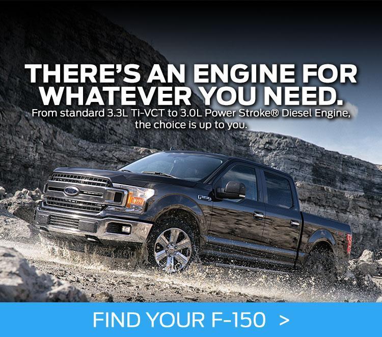 2018 Ford F-150 Engine Option Slide