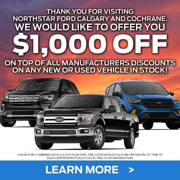 Northstar Ford Cochrane Discount