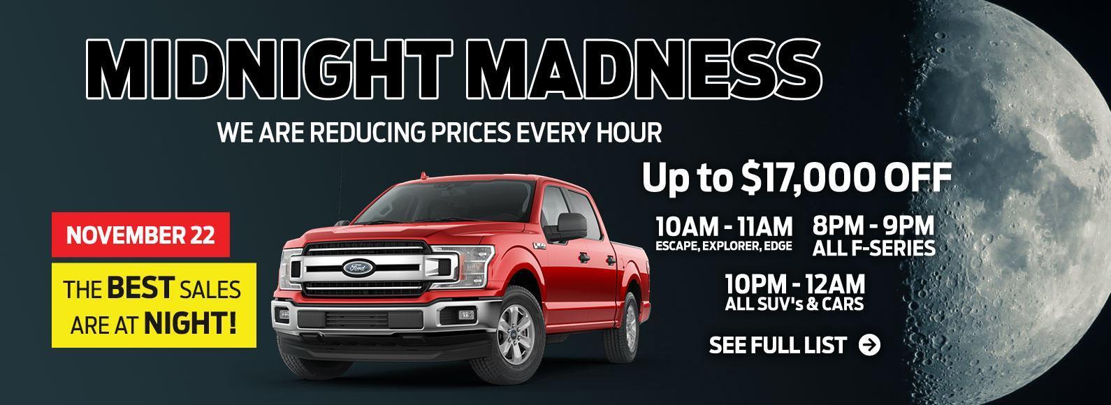 Midnight Madness Sale