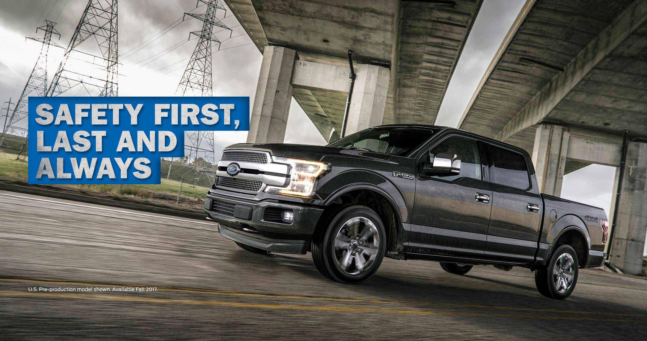 2018 F-150 Safety First