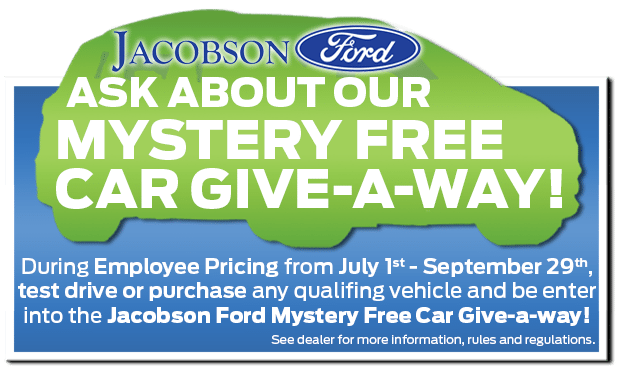 Jacobson Ford Offer