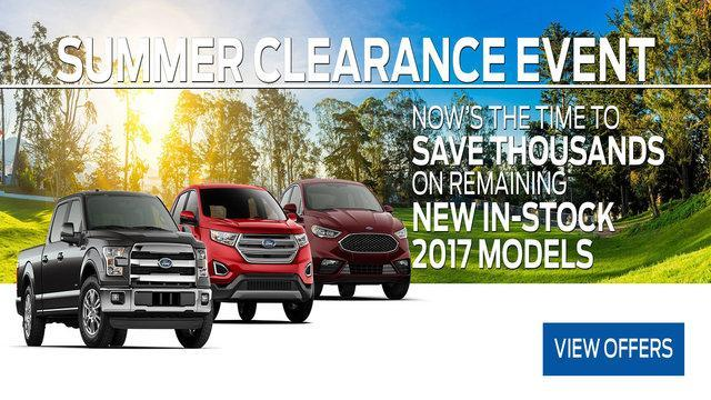 2017 Summer Clearance Coastal Ford Burnaby