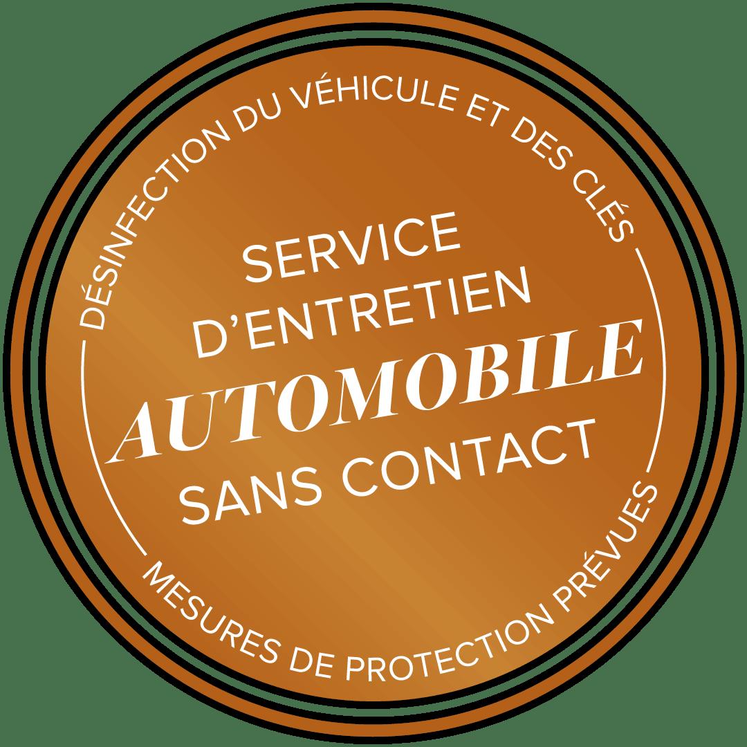 Service d'entretien automobile sans contact