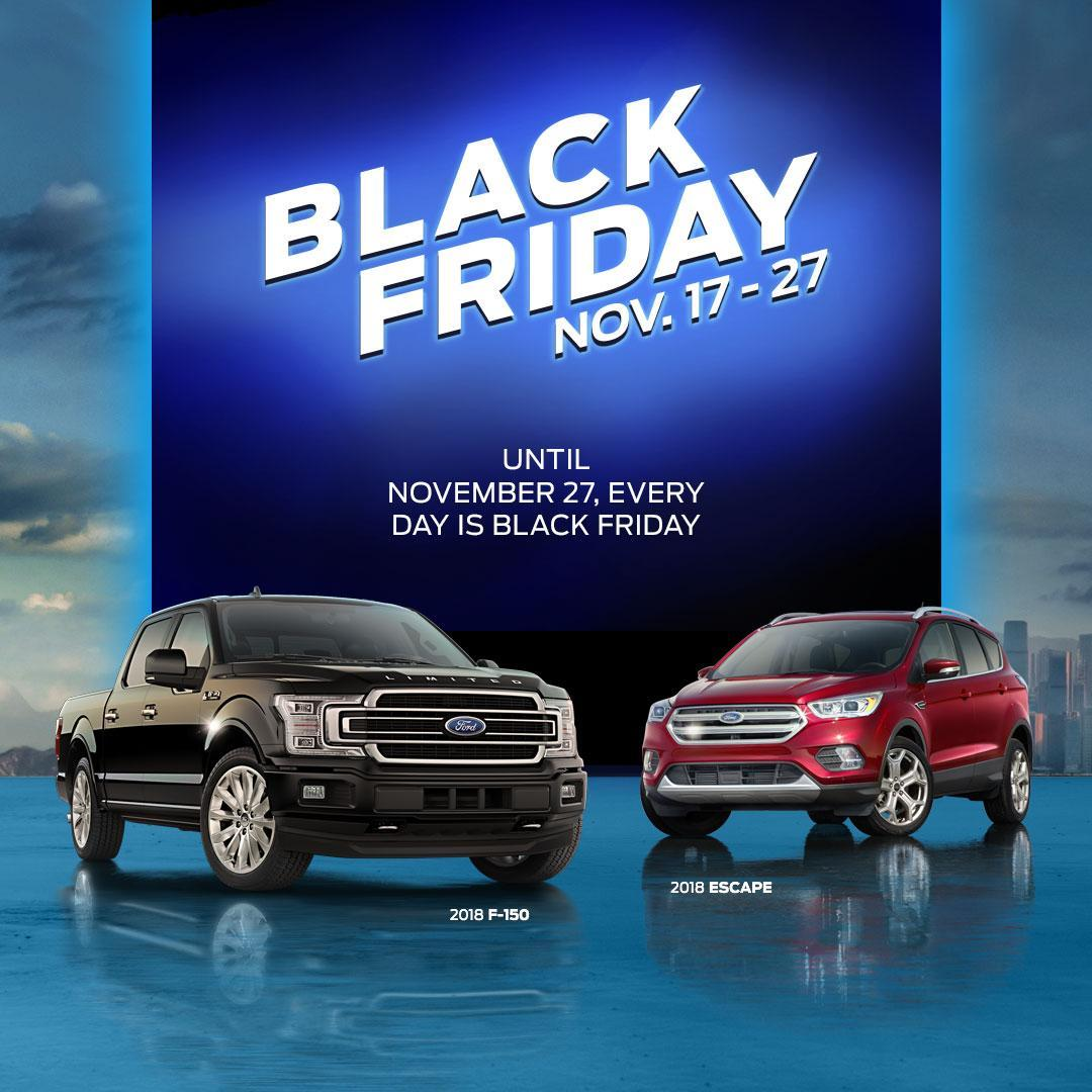 Black Friday Discovery Ford Burlington
