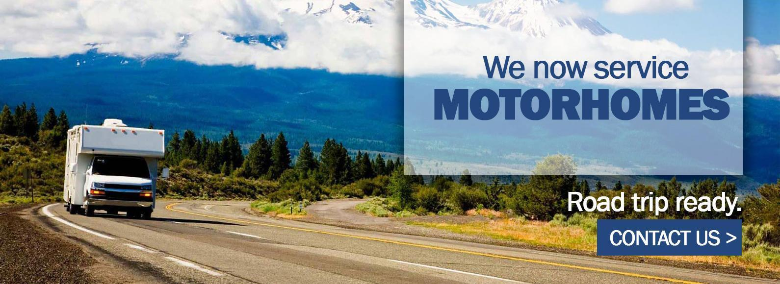 Ford Home We now service Motorhomes