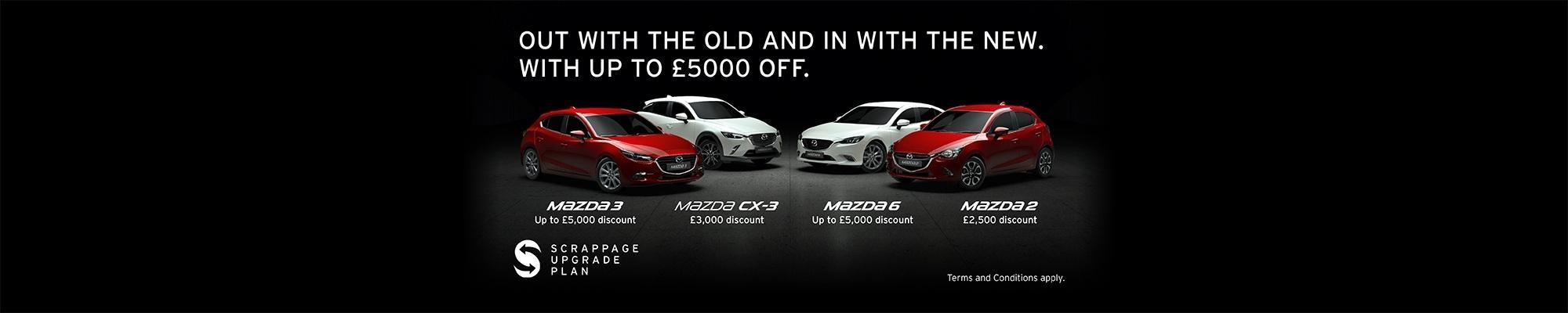 Mazda Scrappage Scheme