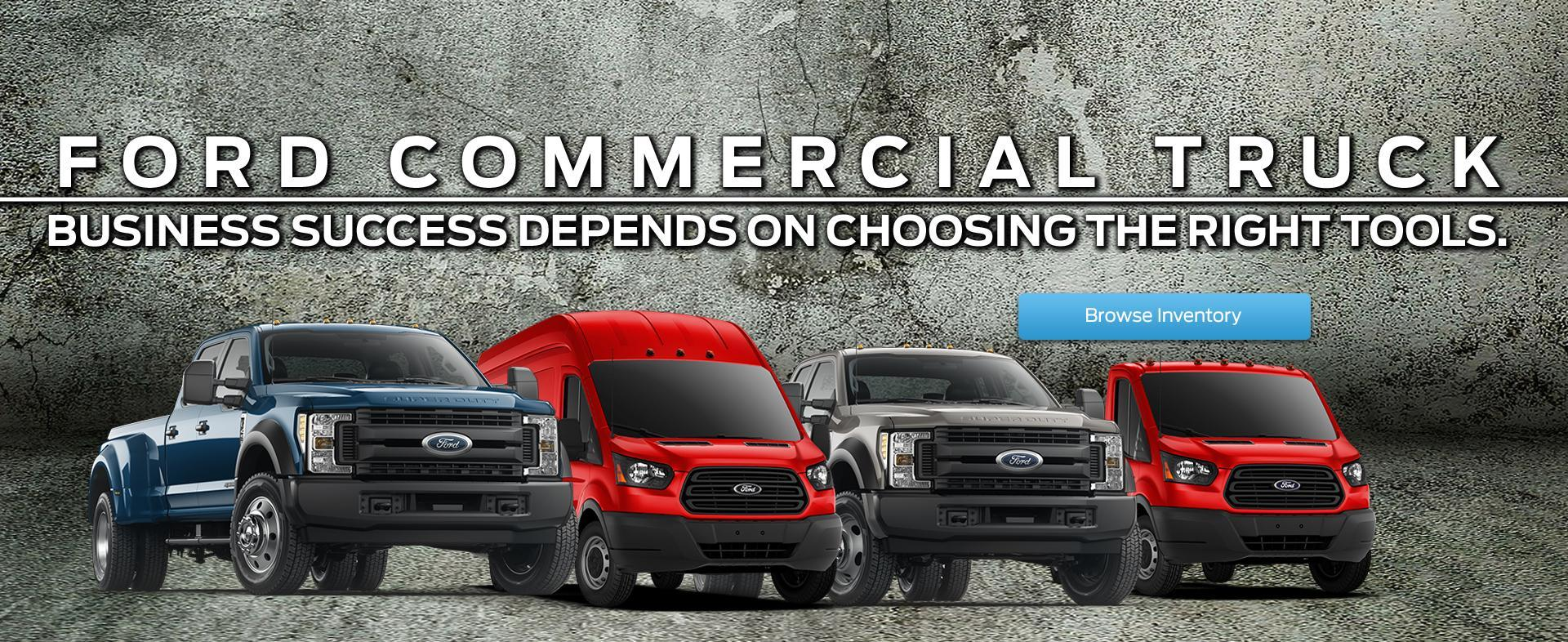 Commercial Fleet trucks multiple