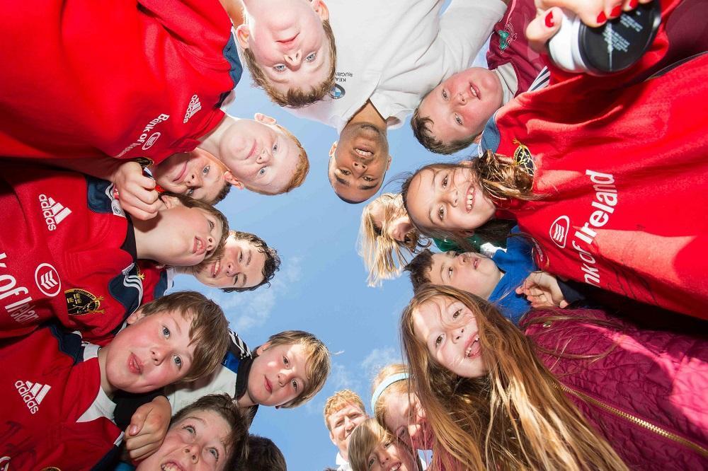 Kearys BMW rugby camp with Simon Zebo