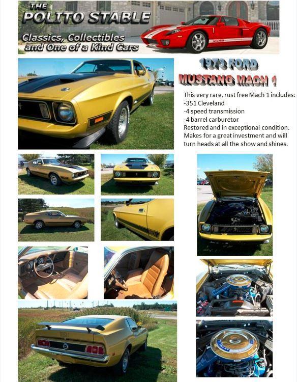 1973 Mach 1