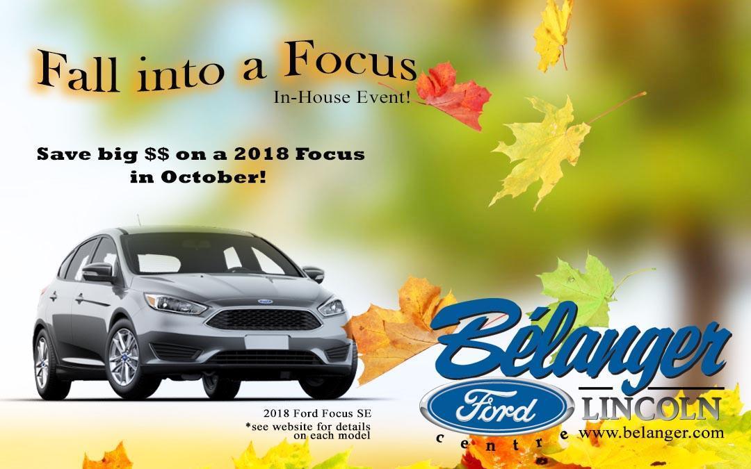 Fall Focus Event Image