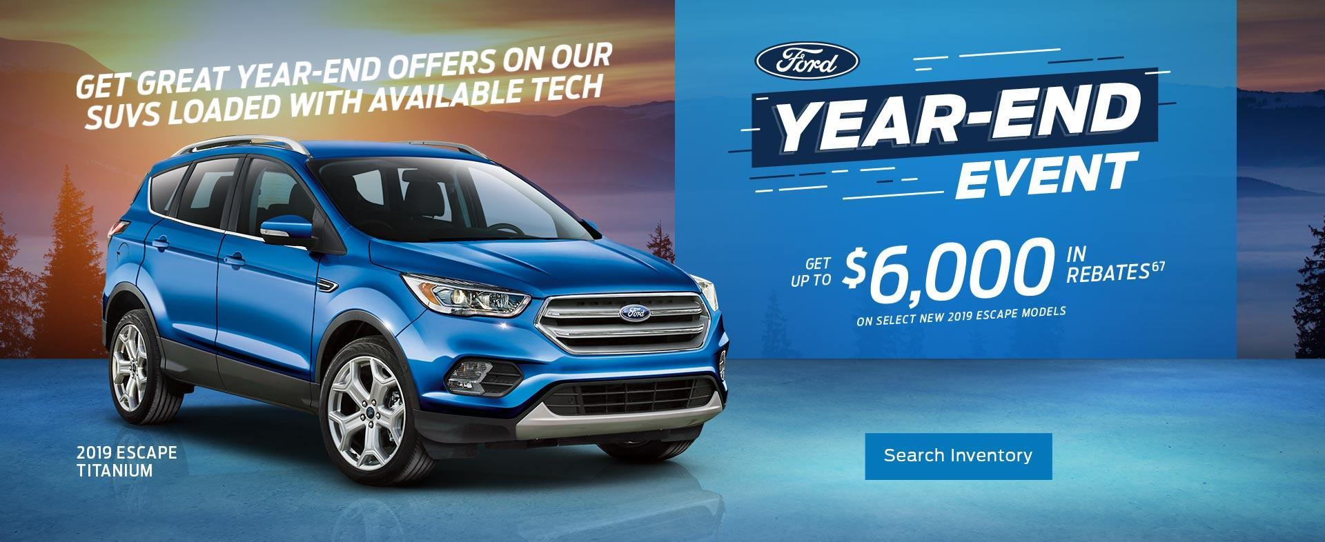 Ford SUVs Year End Event