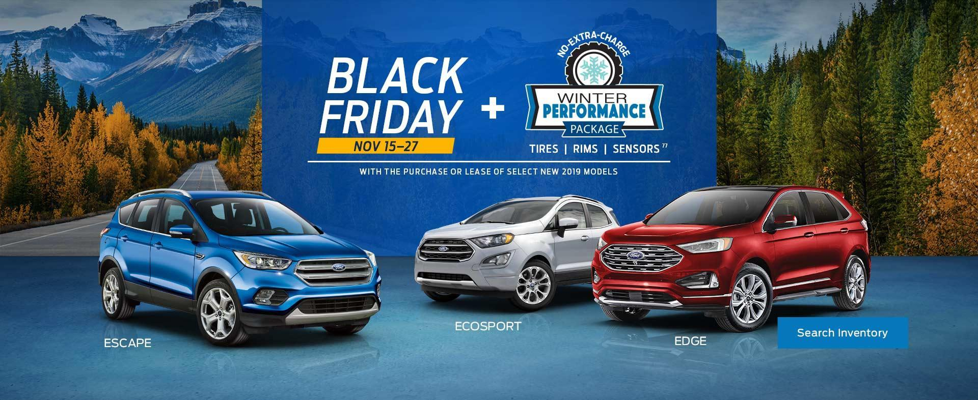 Ford SUVs Black Friday