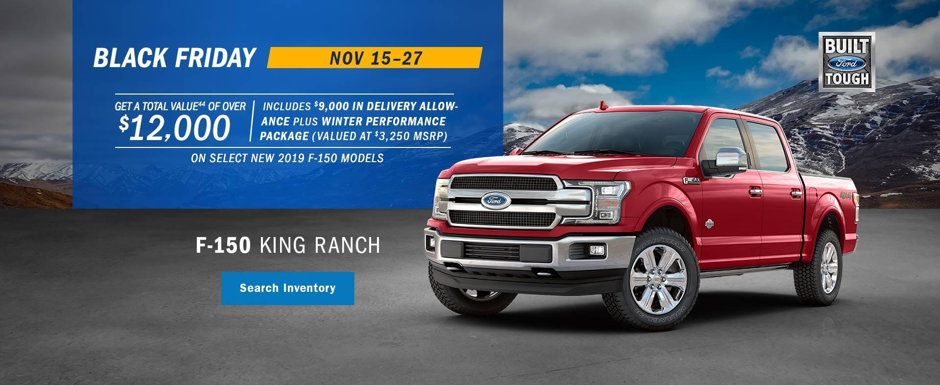 Ford F-150 Black Friday