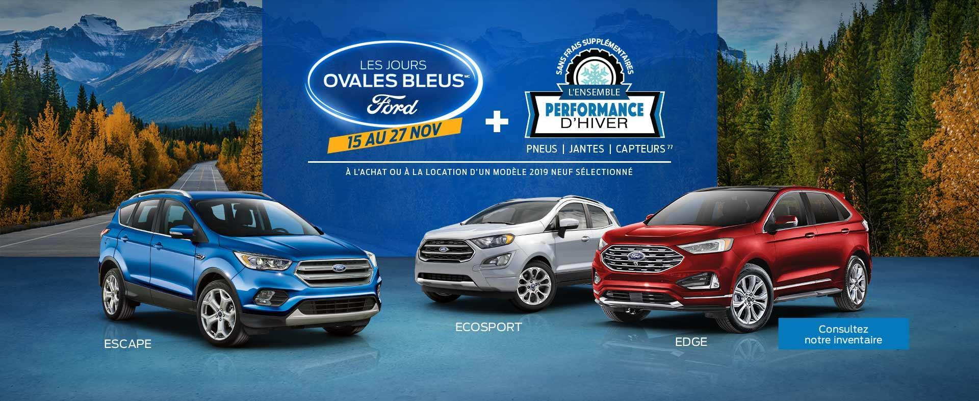 2019 Ford SUVs Black Friday