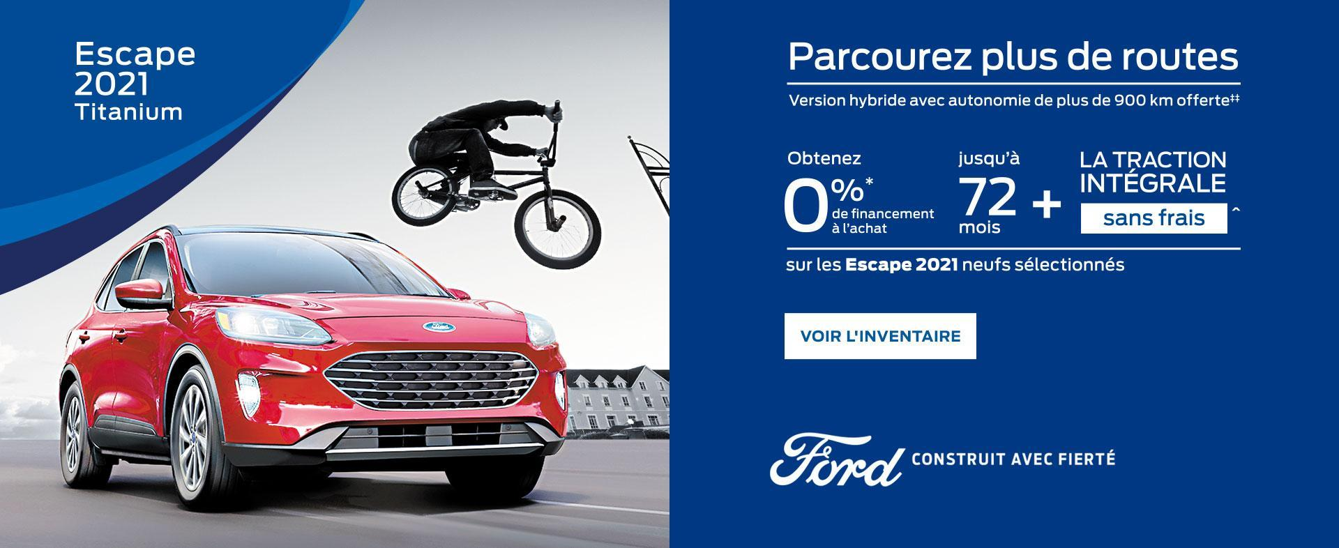Ford Escape | Ford du Canada