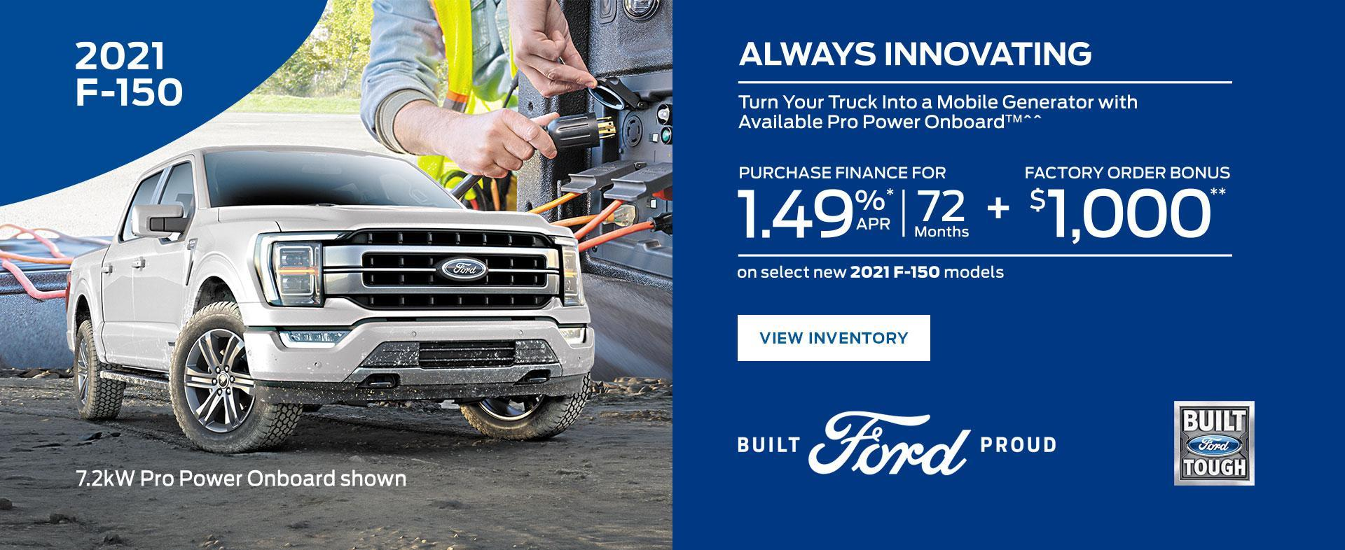 Ford F-150 | Ford of Canada