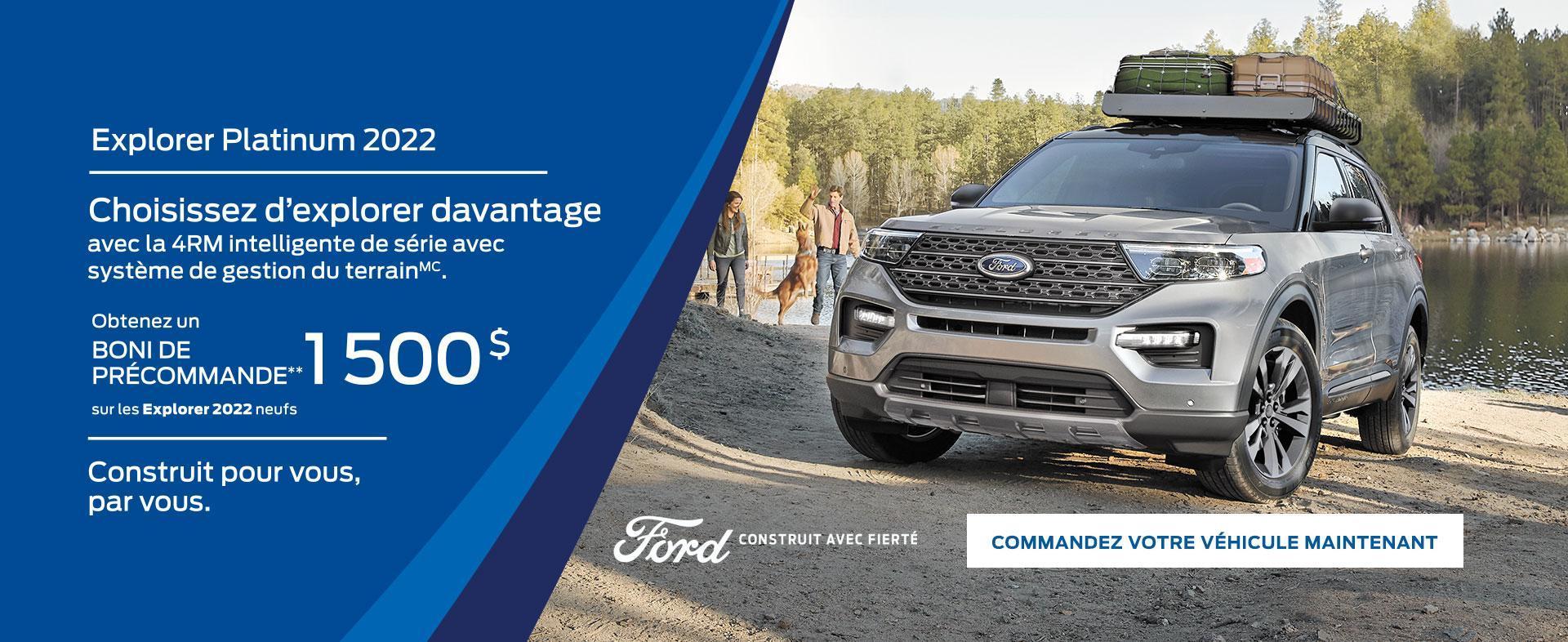 Ford Explorer | Ford du Canada
