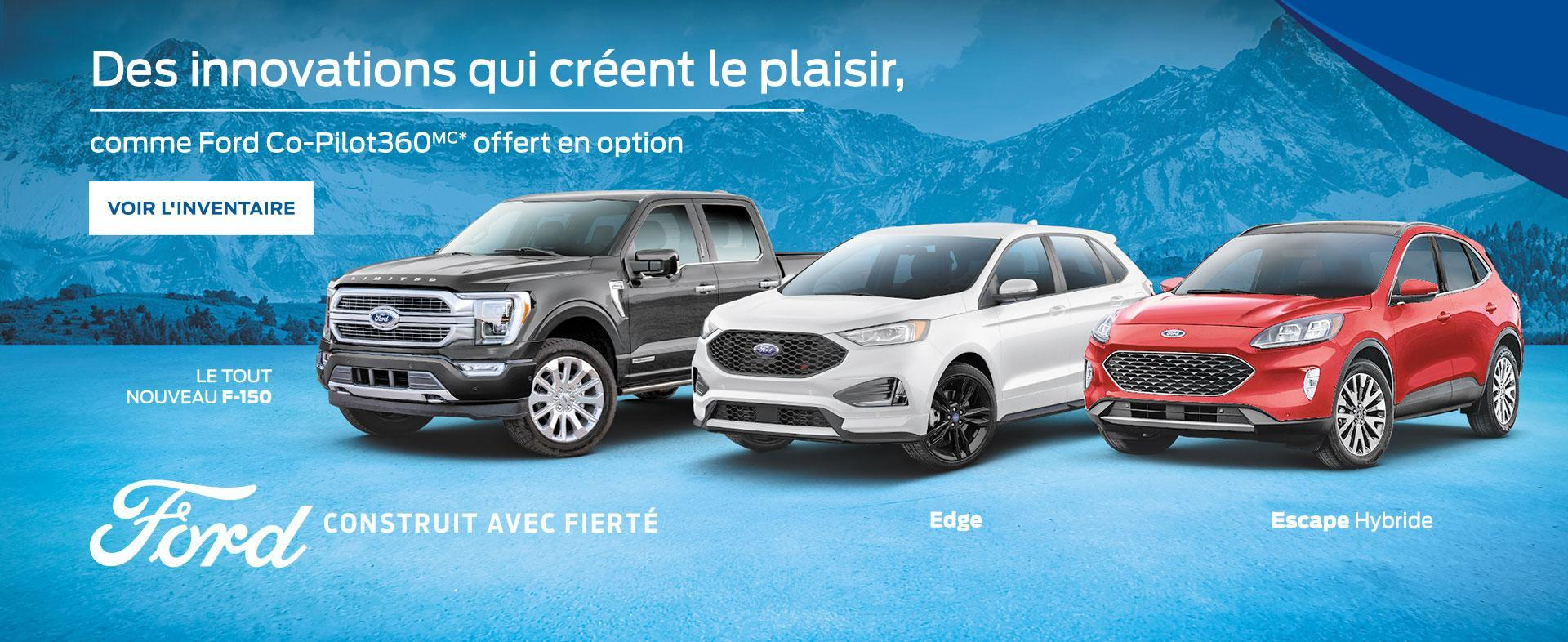 Ford Co-Pilot 360 Technology | Ford du Canada