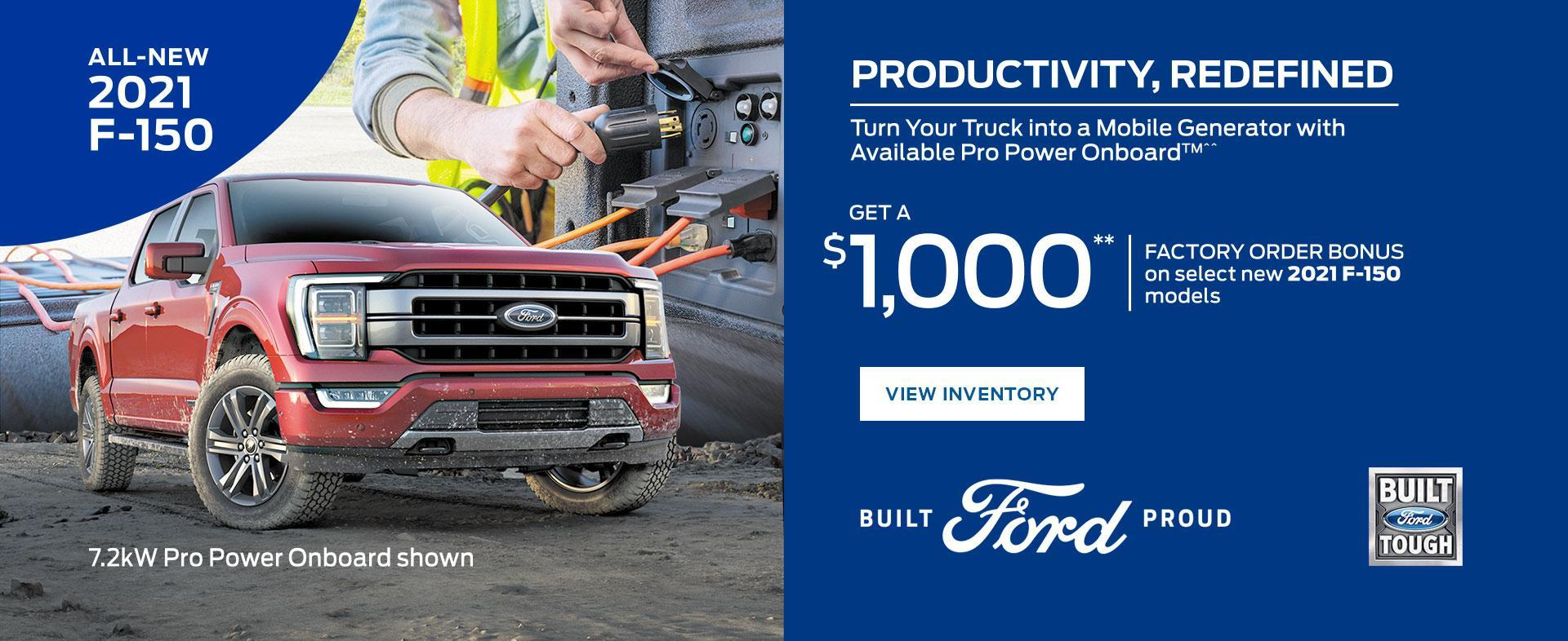2021 Ford F-150   Ford of Canada