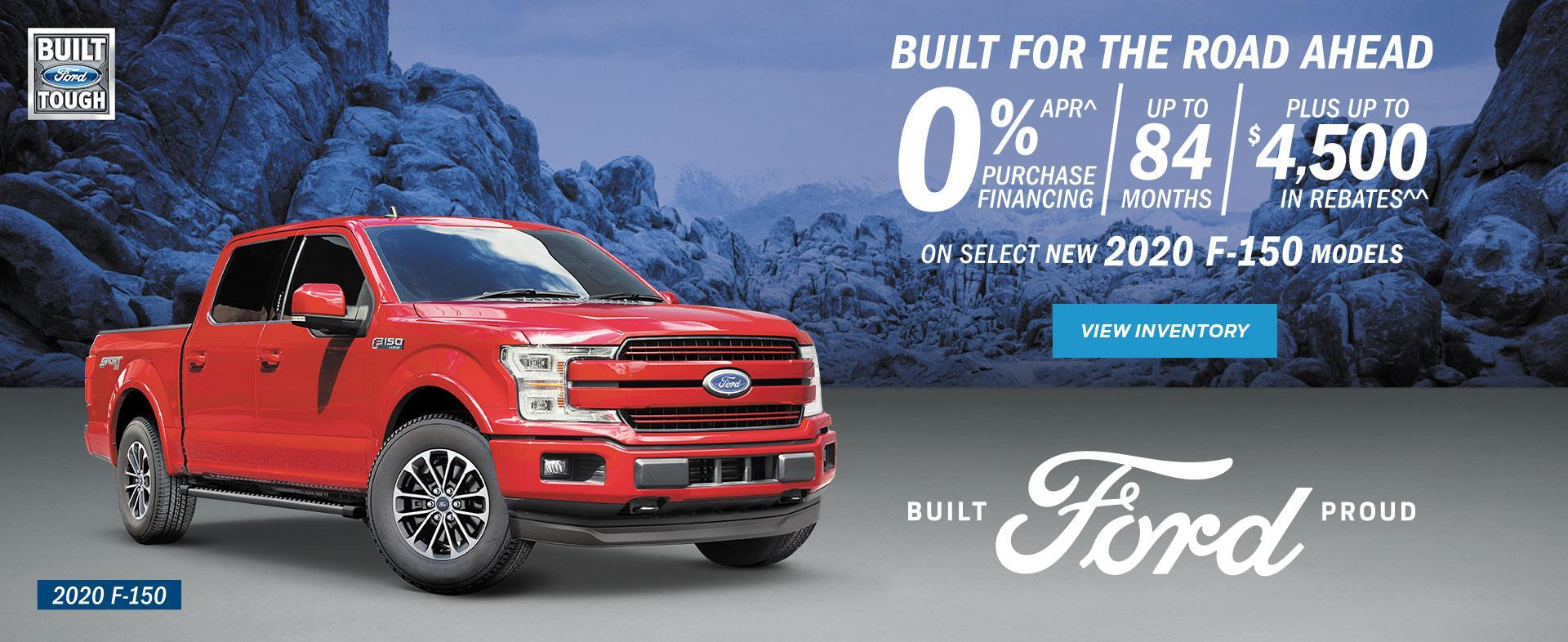 Build for the road 2020 F-150 red