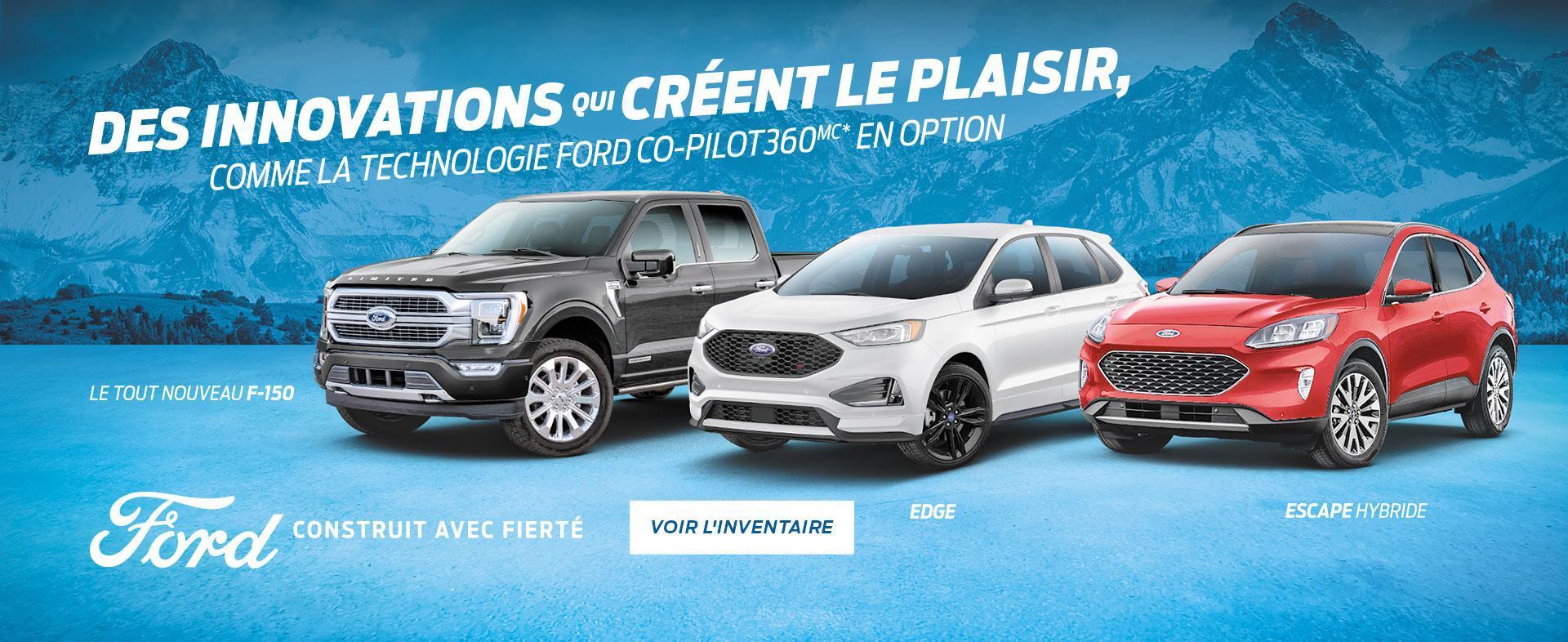 Ford Canada Une innovation qui suscite l'enthousiasme