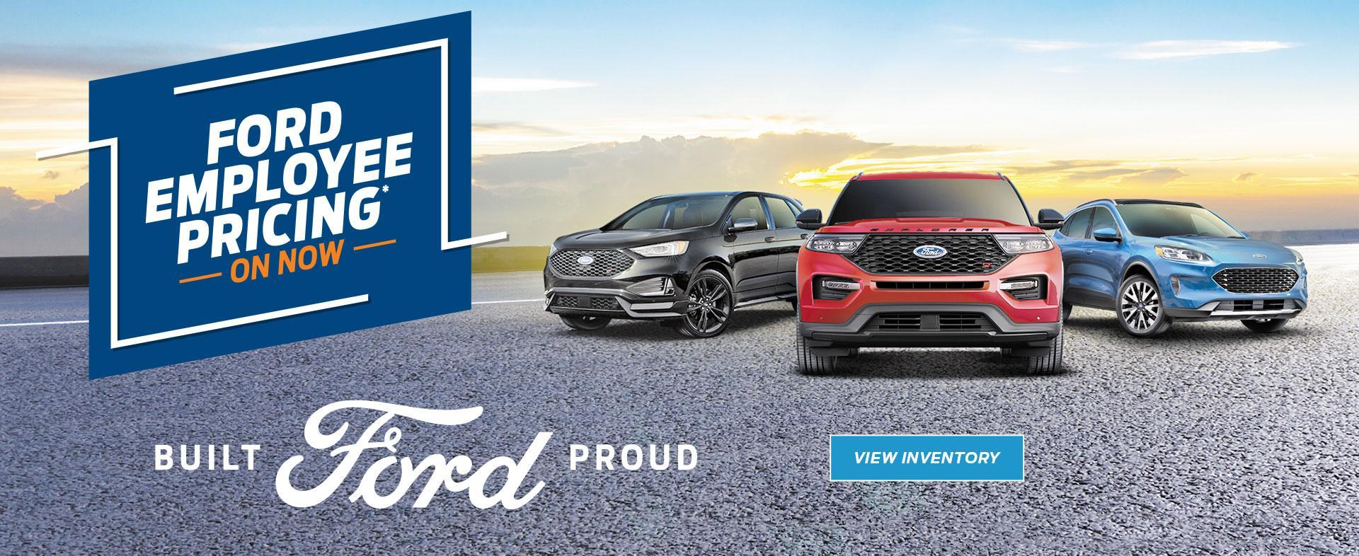 Ford of Canada Employee Pricing is Back