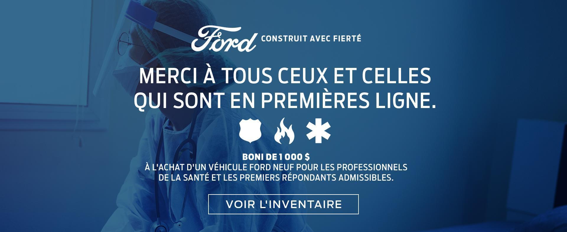 Merci 2020 Ford