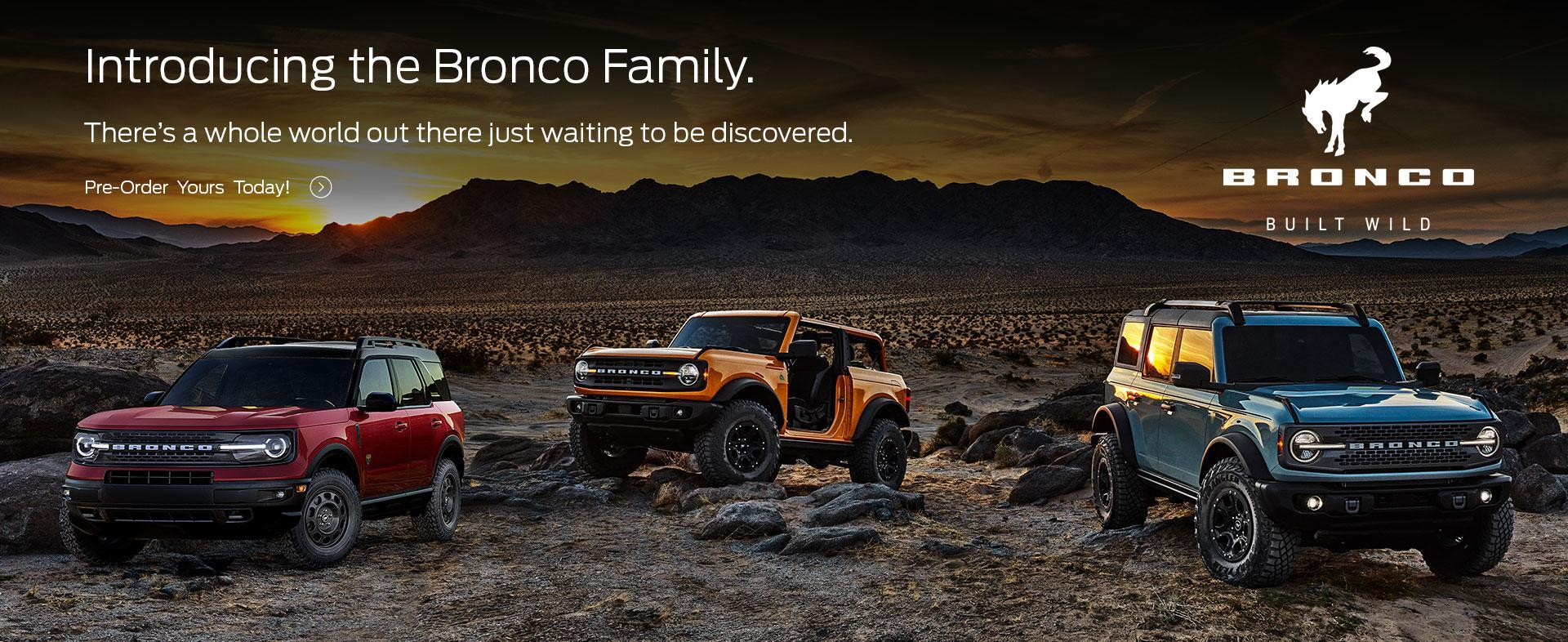 2021 Ford Bronco | Ford of Canada