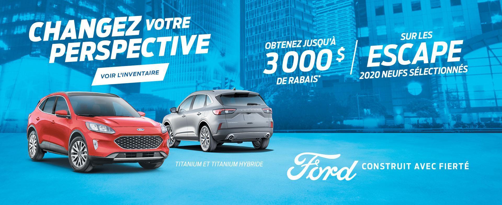 Changez Votre Perspective | Ford Escape | Ford du Canada