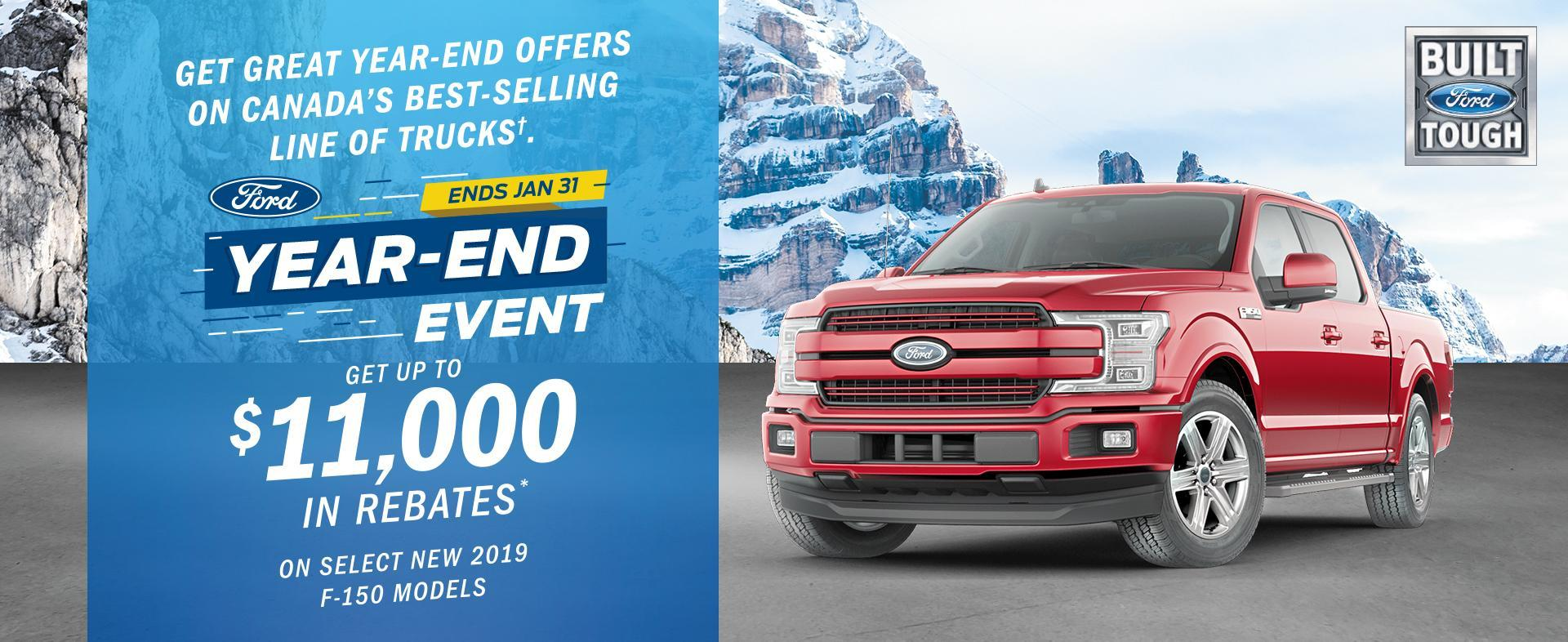 Ford F-150 Year End Event