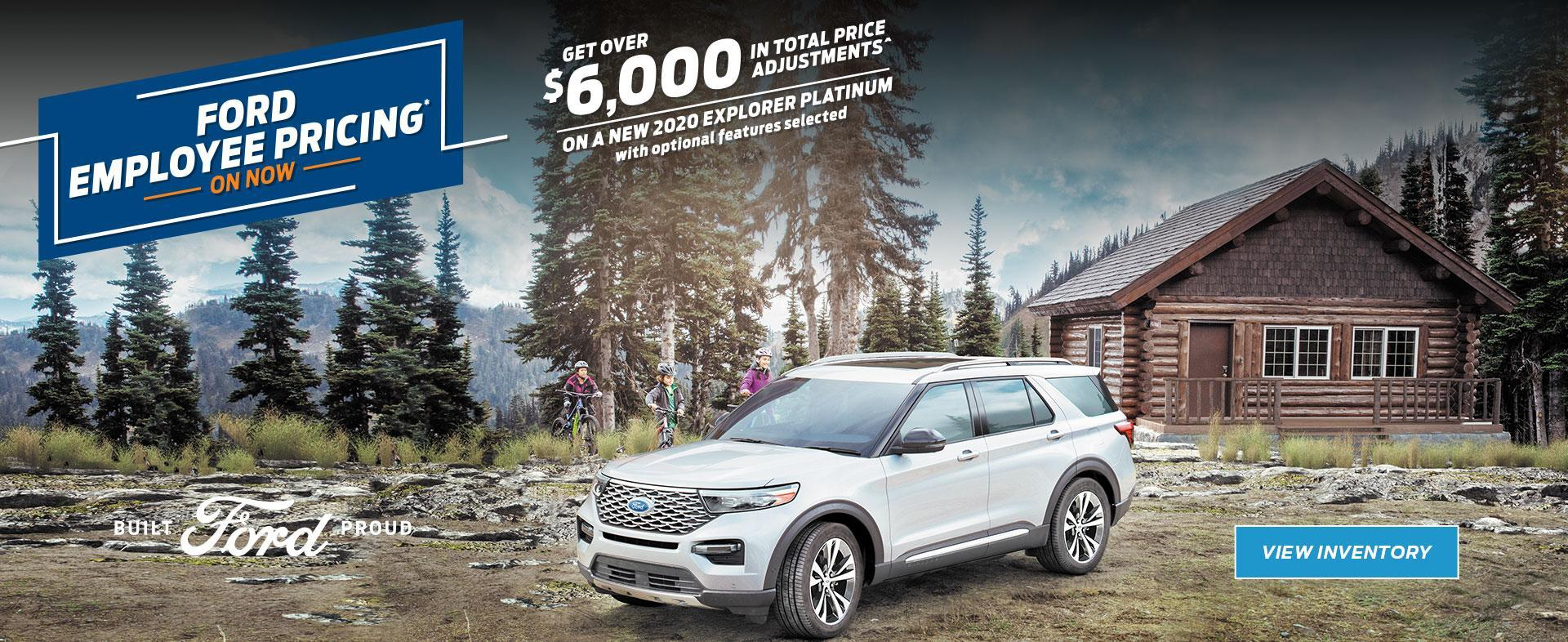 Ford Employee Pricing | 2020 Explorer | Ford of Canada