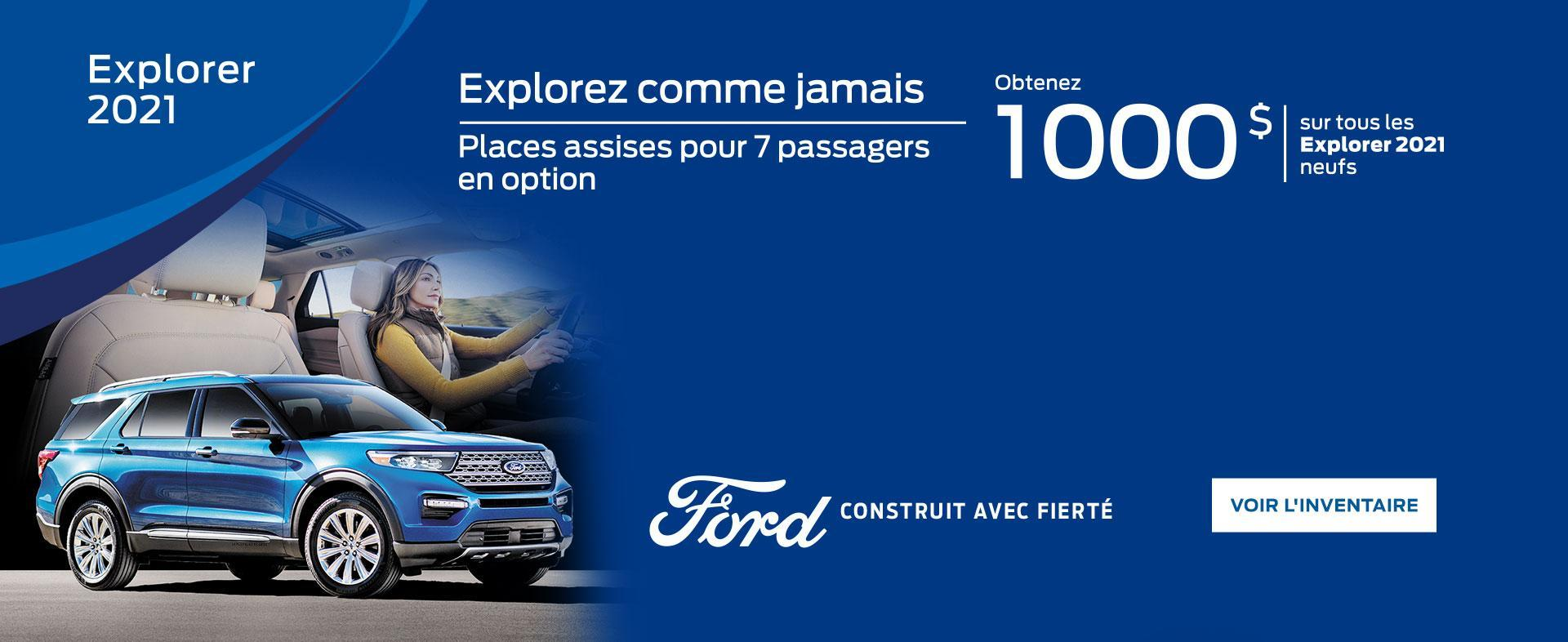 2021 Ford Explorer | Ford of Canada