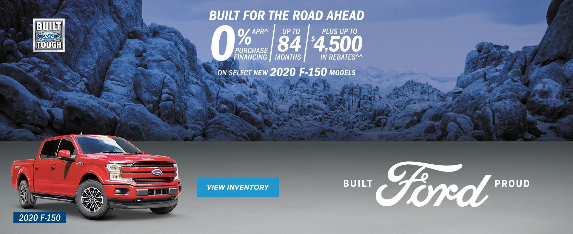 New 2020 Red F-150 Built for the road ahead