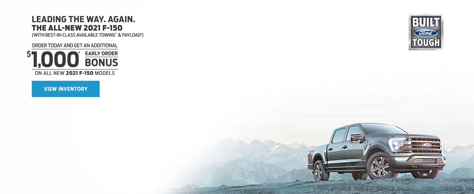 Pre-Order Your 2021 Ford-F-150 | MSA Ford Sales
