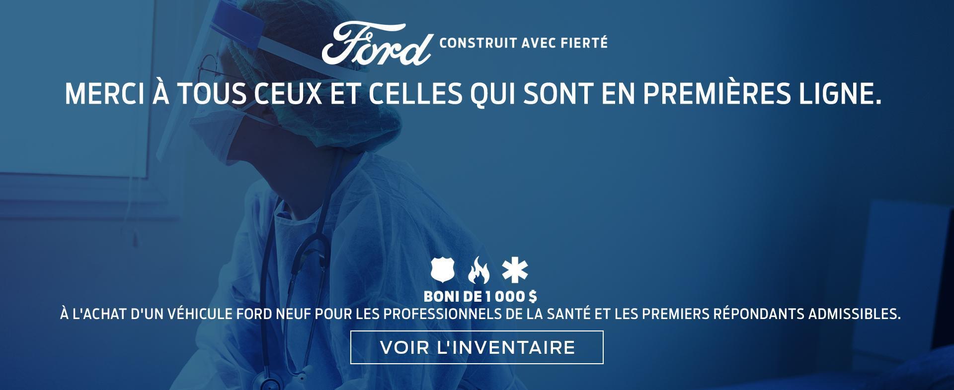 Merci Ford 2020