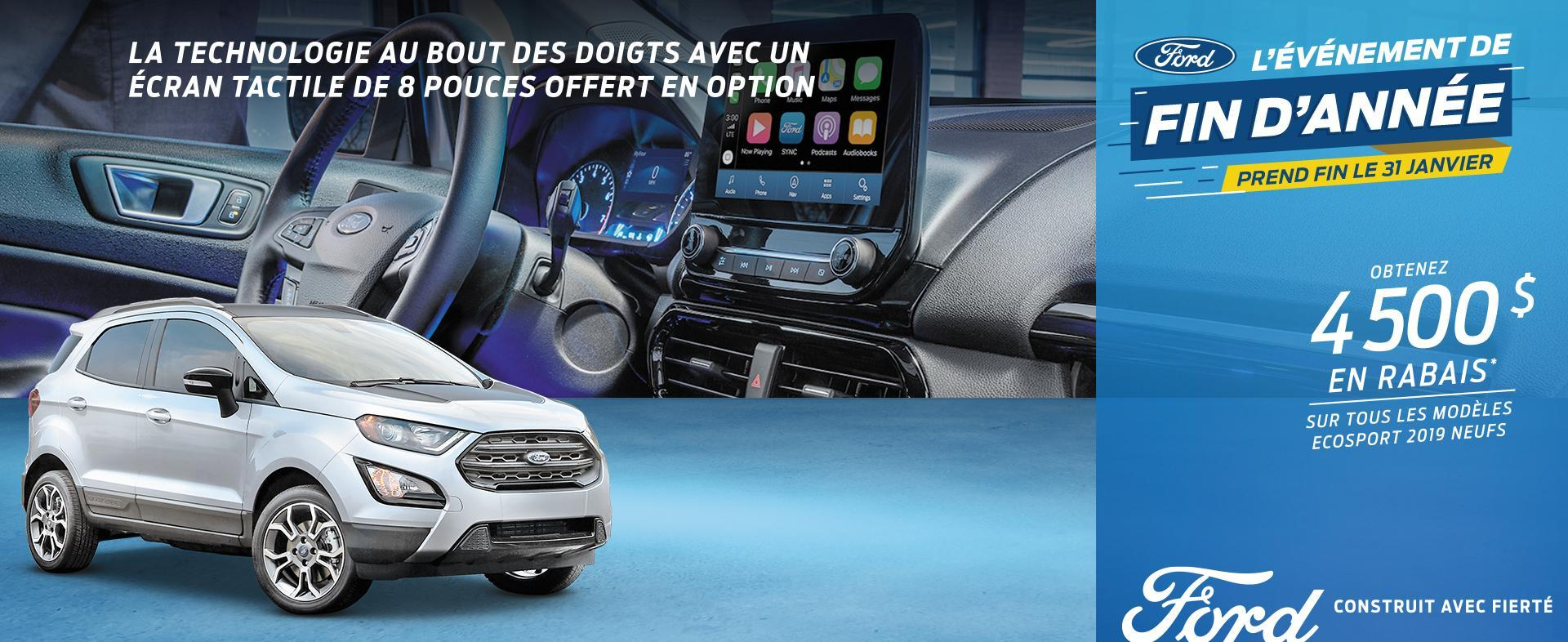 2019 Ford Ecosport Year End Event