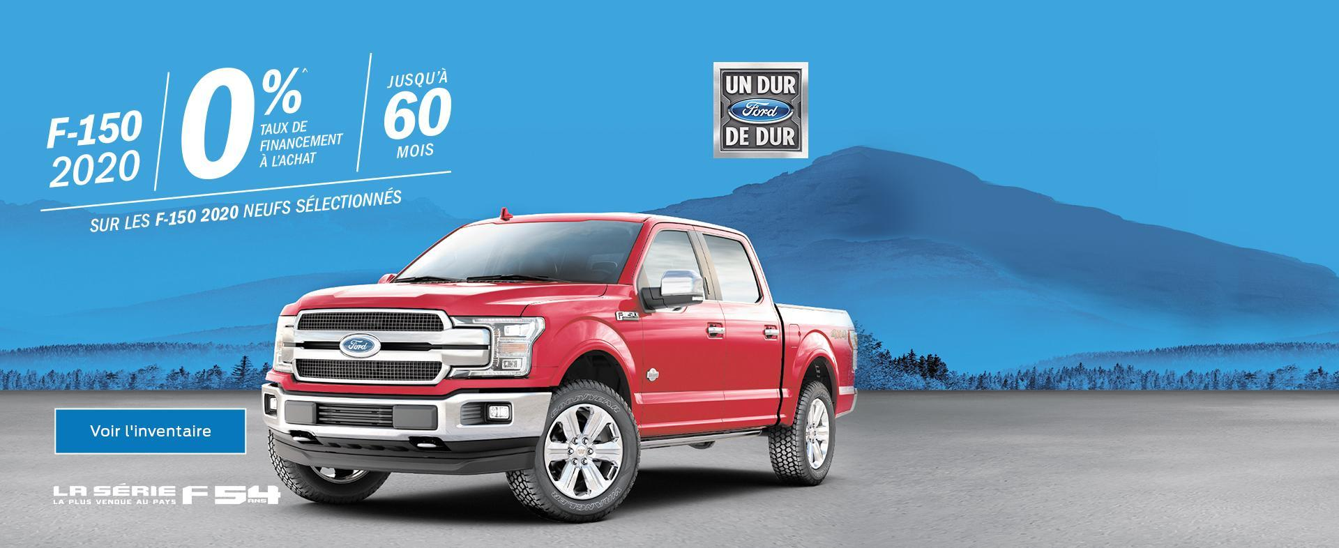 Ford février F150 2020