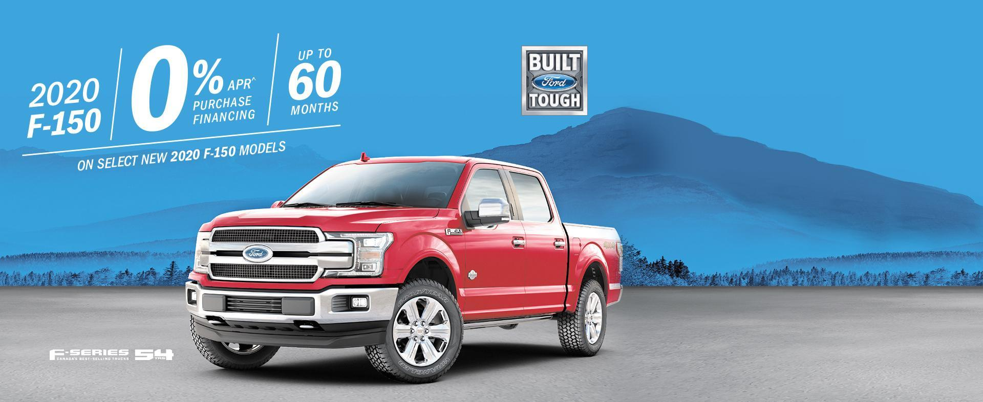 2020 Ford F150 February Finance