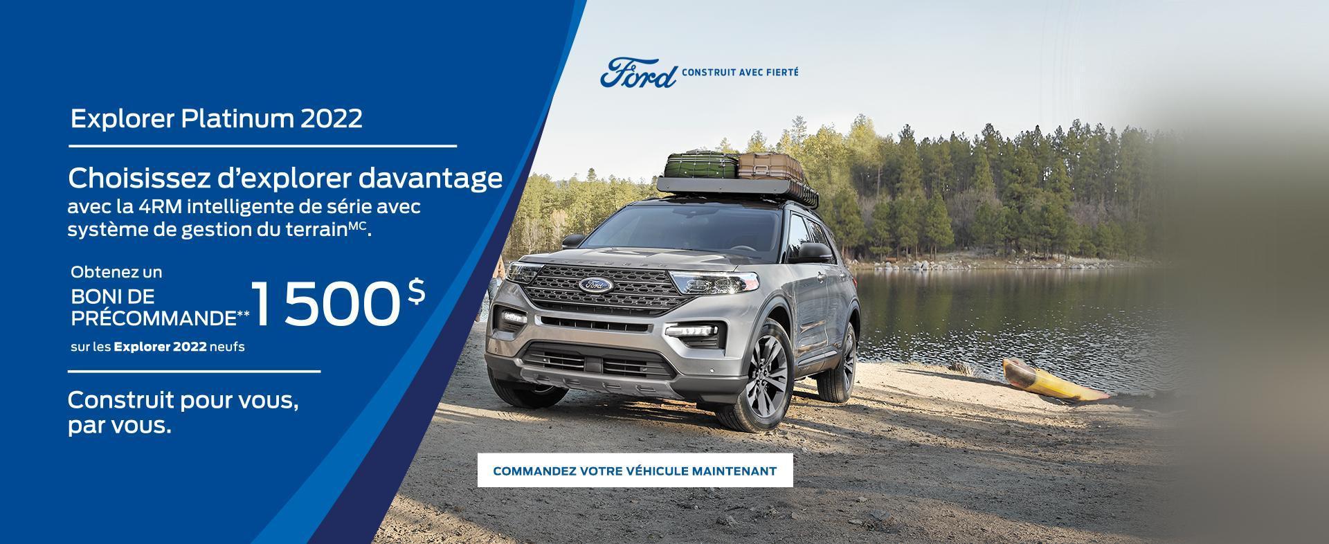 2022 Ford Explorer | Ford du Canada