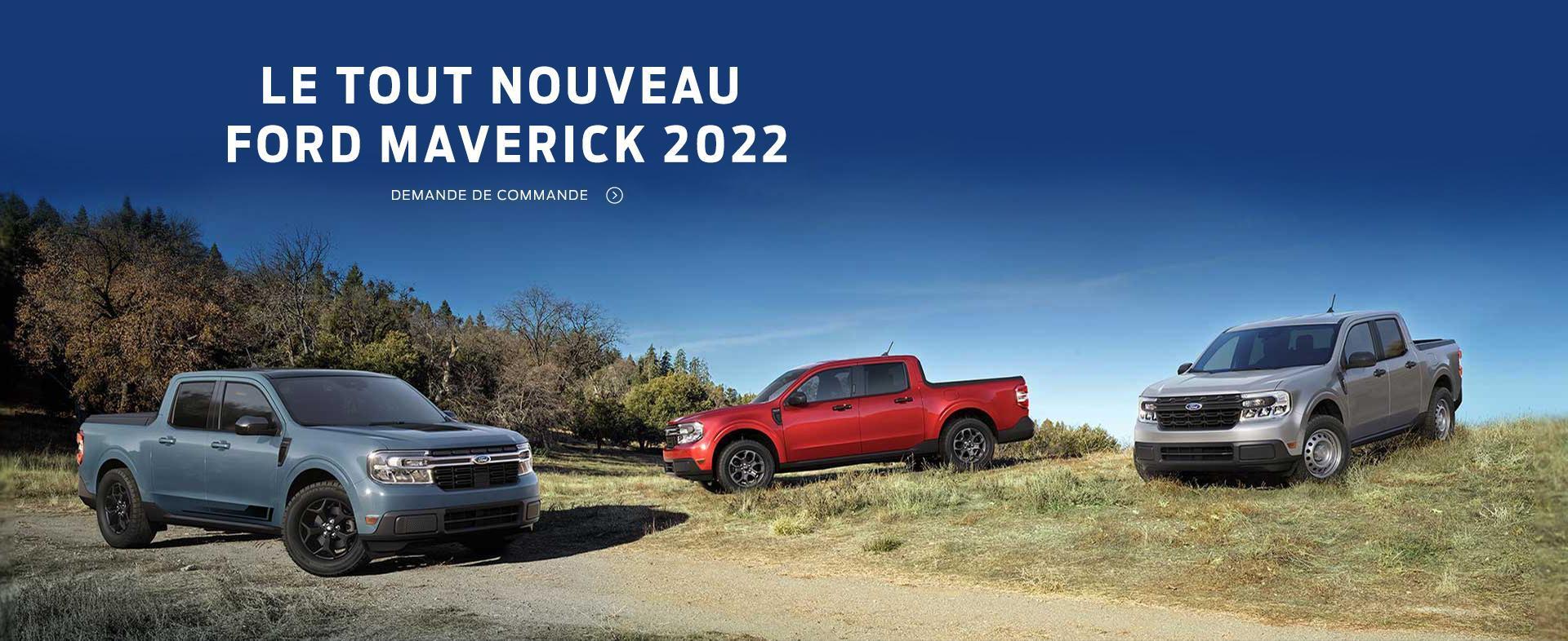 Ford Maverick 2022 | Ford du Canada