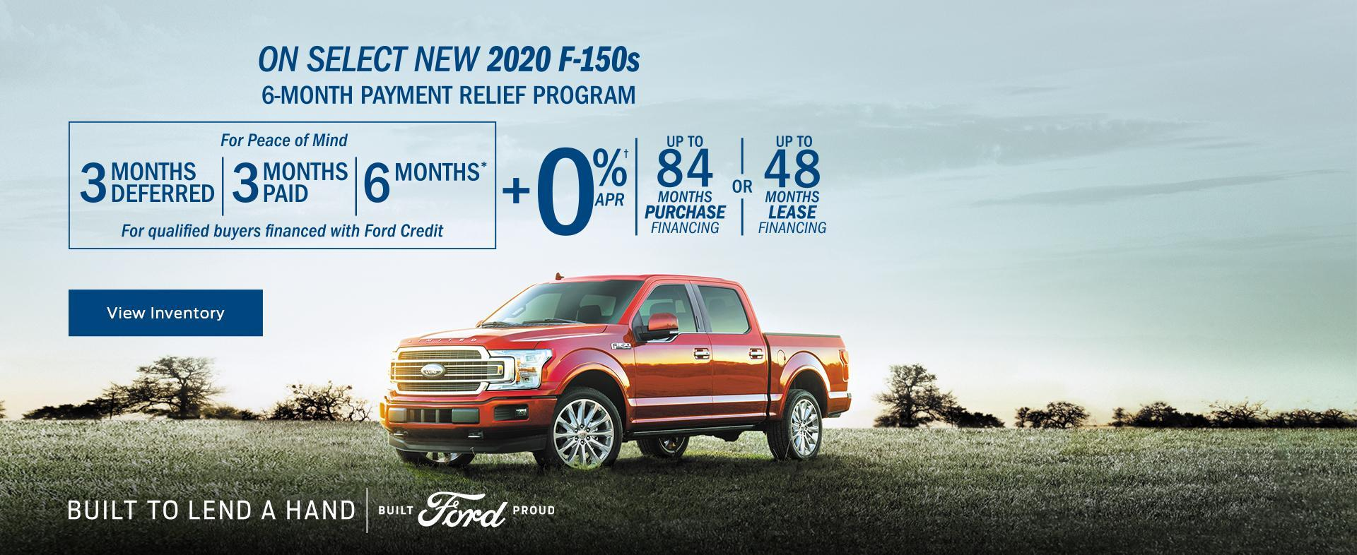 2020 Ford F-150 Built to Lend a Hand