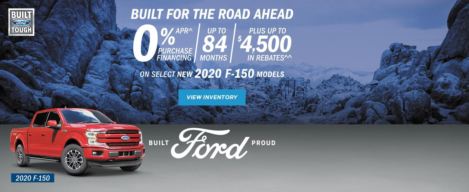 New 2020 Red F-150 Build for the road ahead