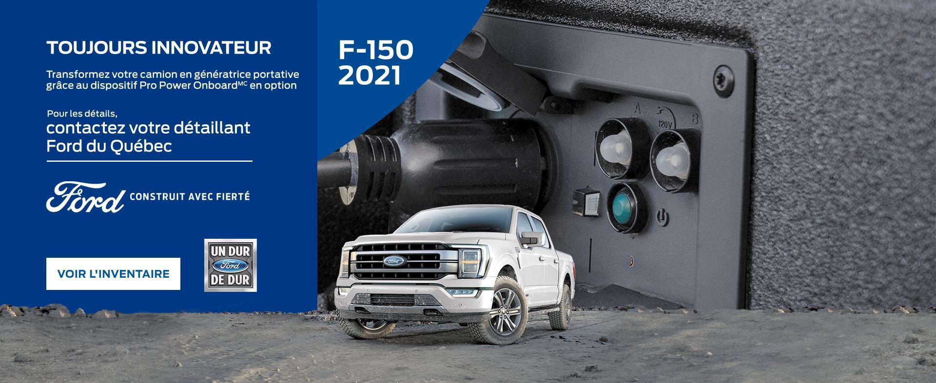 2021 F-150 | Ford du Canada