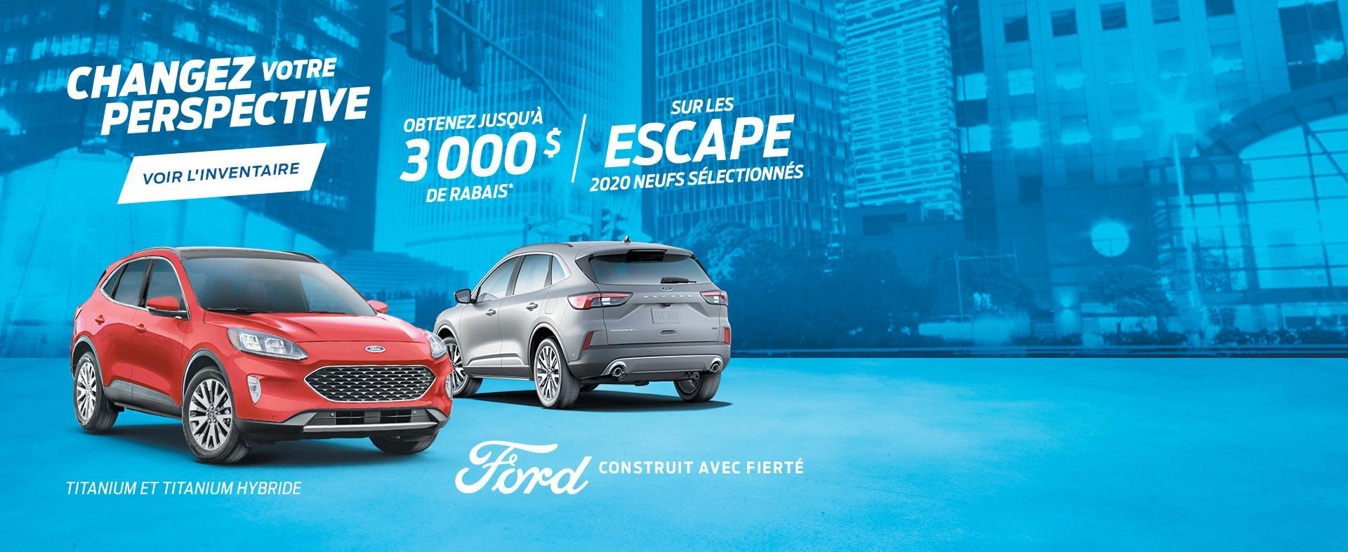 Changez Votre Perspective | Ford Escape | Ford of Canada