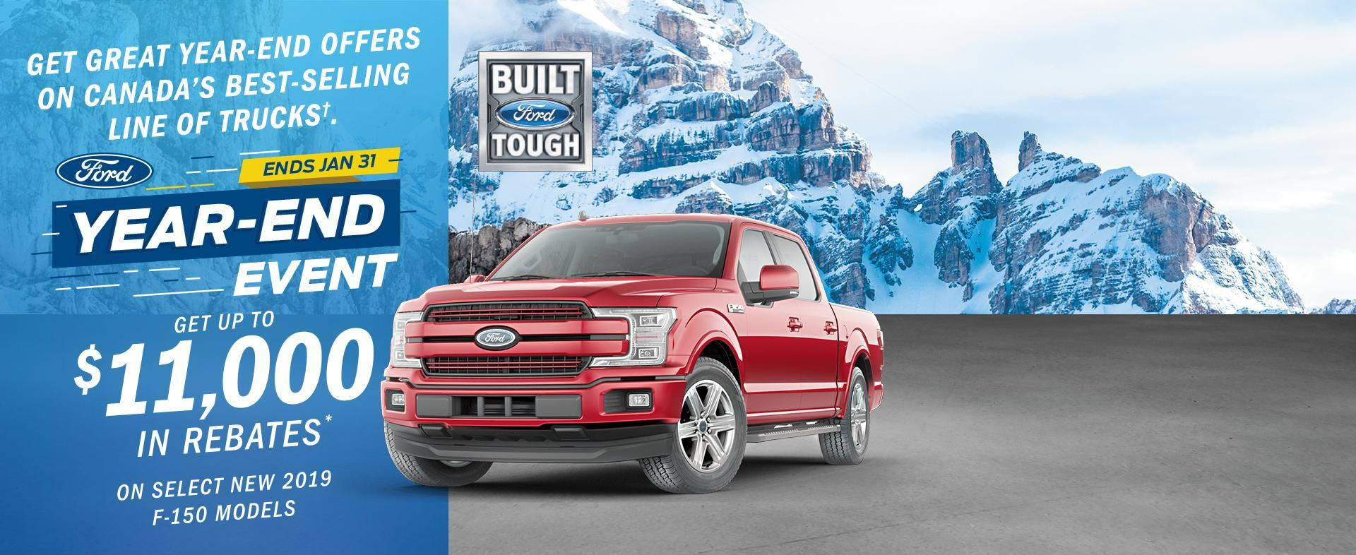 2019 Ford F150 Year End Event