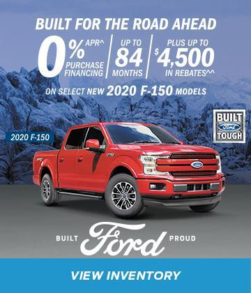 New 2020 Red Ford F-150 built for the road ahead