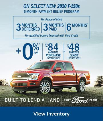 2020 Ford F150 Built to Lend a Hand