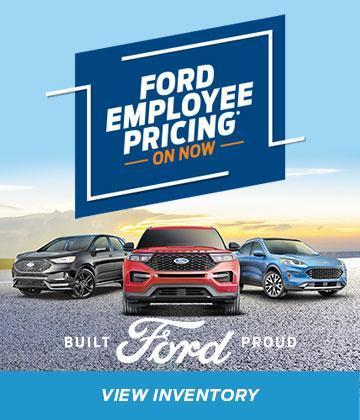 Ford Employee Pricing is Back!