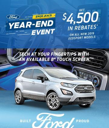 Ford Ecosport Year End Event